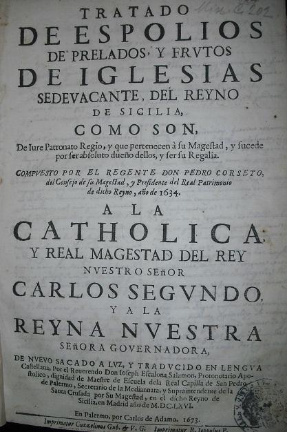[1673] Tratado de espolios de prelados