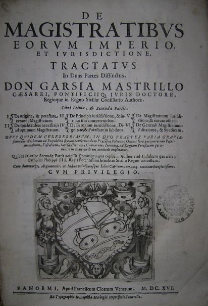 [1616] De magistratibus, eorum imperio et iurisdictione. Pars II