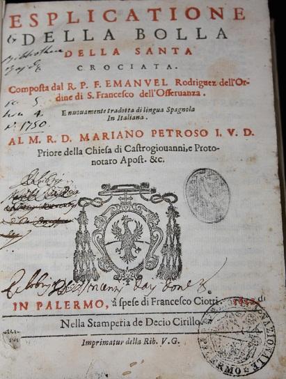 [1622] Esplicatione della Bolla della santa Crociata
