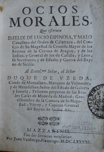 [1691] Ocios morales