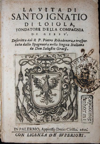 [1622] La vita di S. Ignatio di Loiola